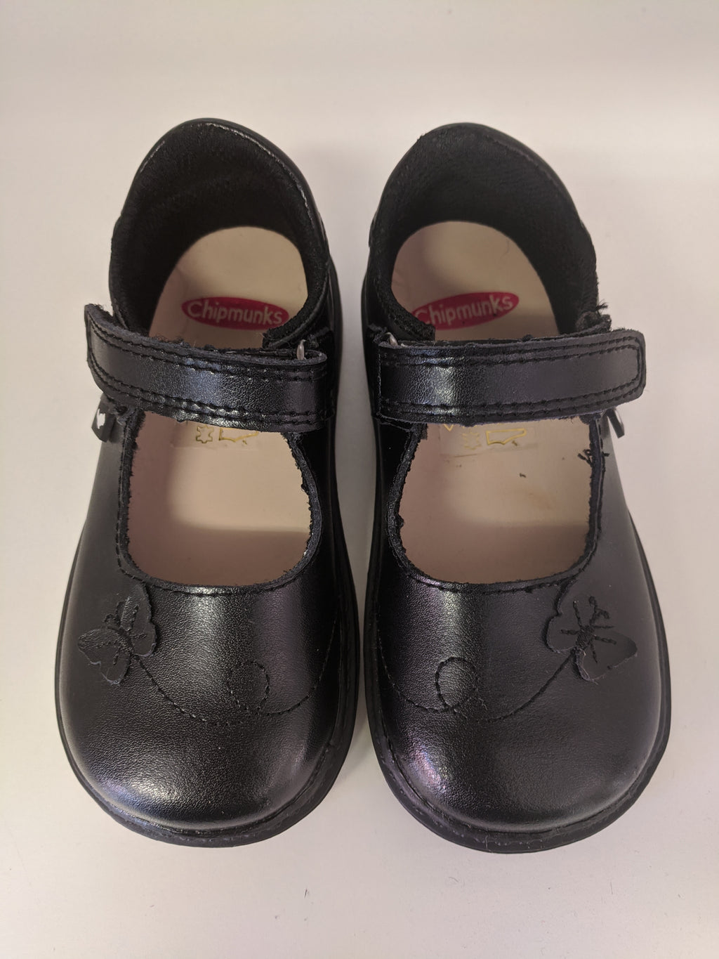 Chipmunks Paige Black School Shoes (code Jan 2021)