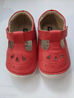 ( New Stock) Old Soles Royal Pave Bright Red T Bar First Shoes