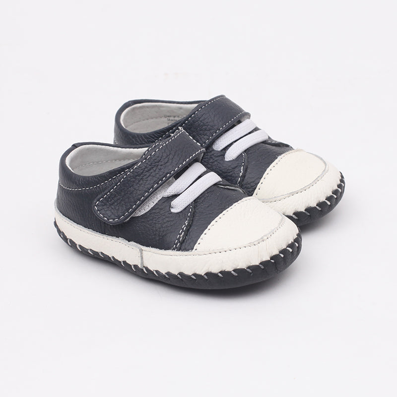 MerryGo  Bow Blue White Baby Shoes (code Jan 2021)