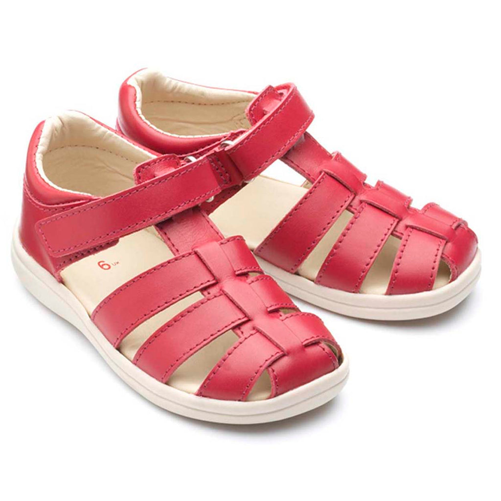 Chipmunks Noah Red Closed  Toe Sandals (code Jan 2021)