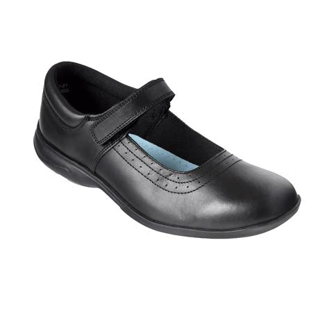 Term Kate Black Leather Shoes