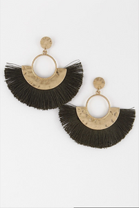 Aztec Earrings - Mariedel & Co.