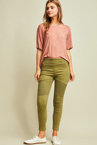 Ribbed Legged Jeans - Mariedel & Co.