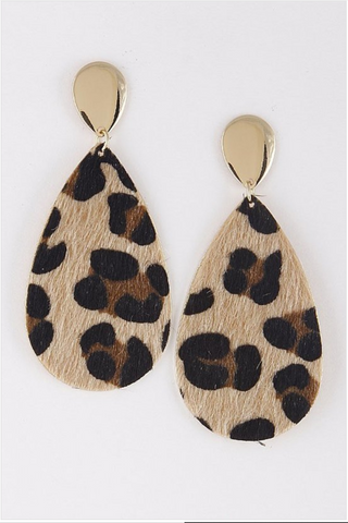 Jungle Fever Earrings - Mariedel & Co.
