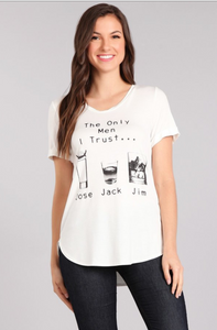 Jose, Jack, Jim Graphic Tee - Mariedel & Co.