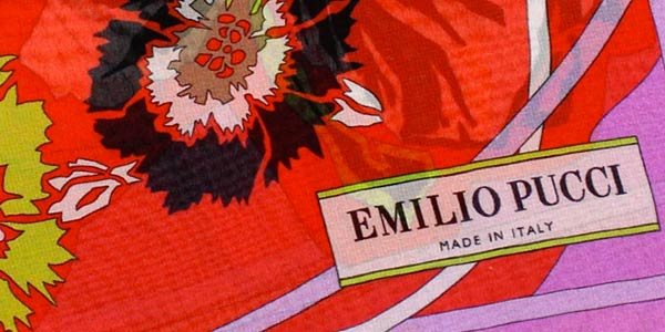 New Emilio Pucci Scarves 45% Off