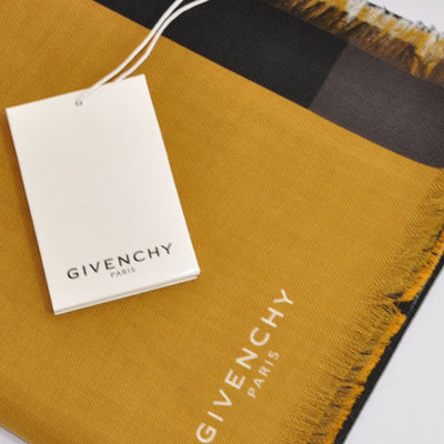 Givenchy Scarf G-ometric Flag Design