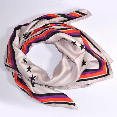 Givenchy Scarf Pink 17 Design