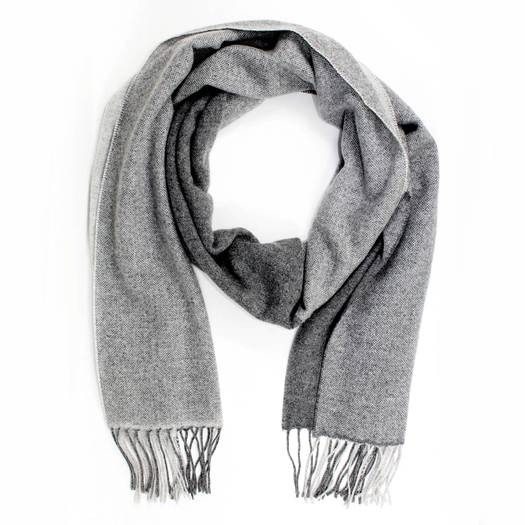 Agnona Scarf Shades Of Gray Shawl