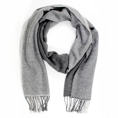 Agnona Cashmere Scarf Shades Of Gray Shawl