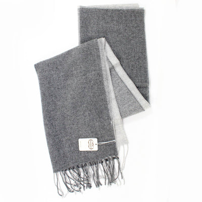 Agnona Cashmere Scarf Shades Of Gray Shawl New