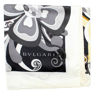 Bvlgari Scarf - Serpenti Love Yard - Large Twill Silk Scarf
