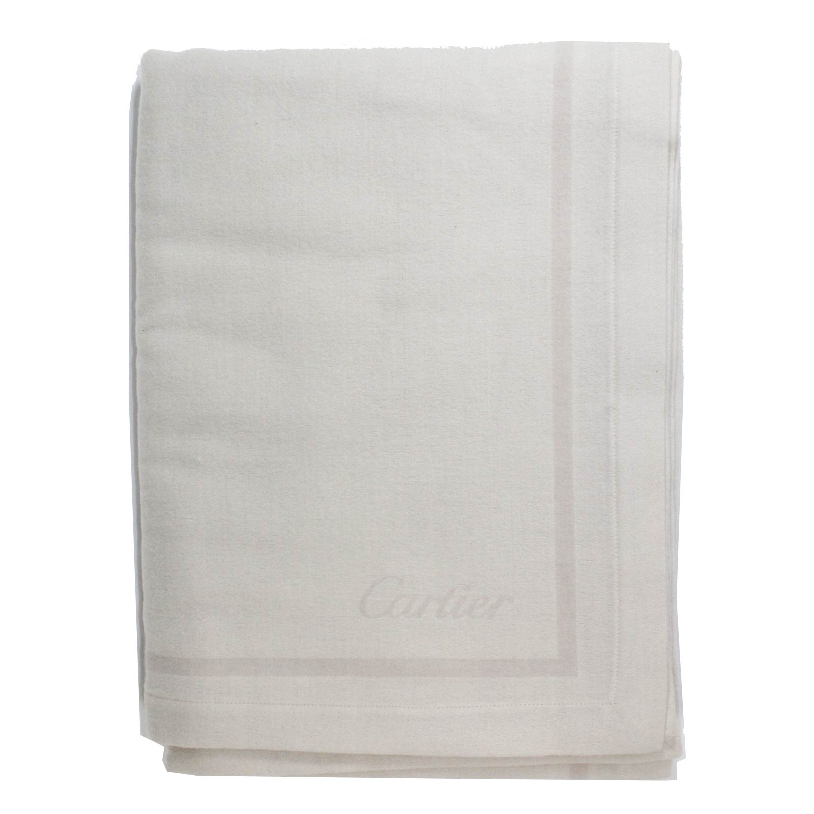 Cartier Throw Blanket Beige Panther