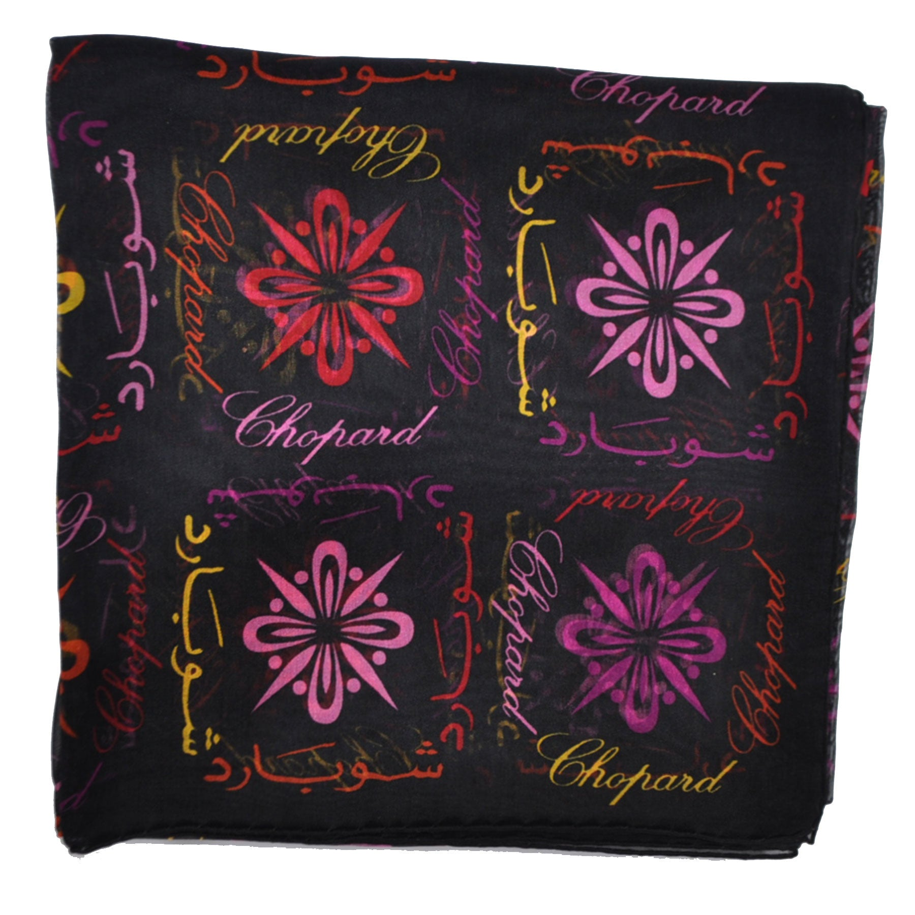 Chopard Silk Scarves Chiffon Silk