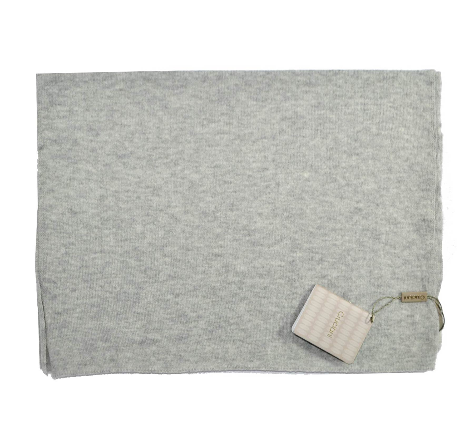 Cruciani Wool Scarf Gray SALE