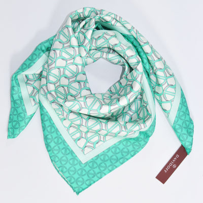 Twill Silk Square Foulard SALE