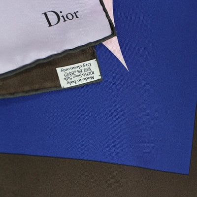 Christian Dior Lilac - Large Square Twill Silk Scarf