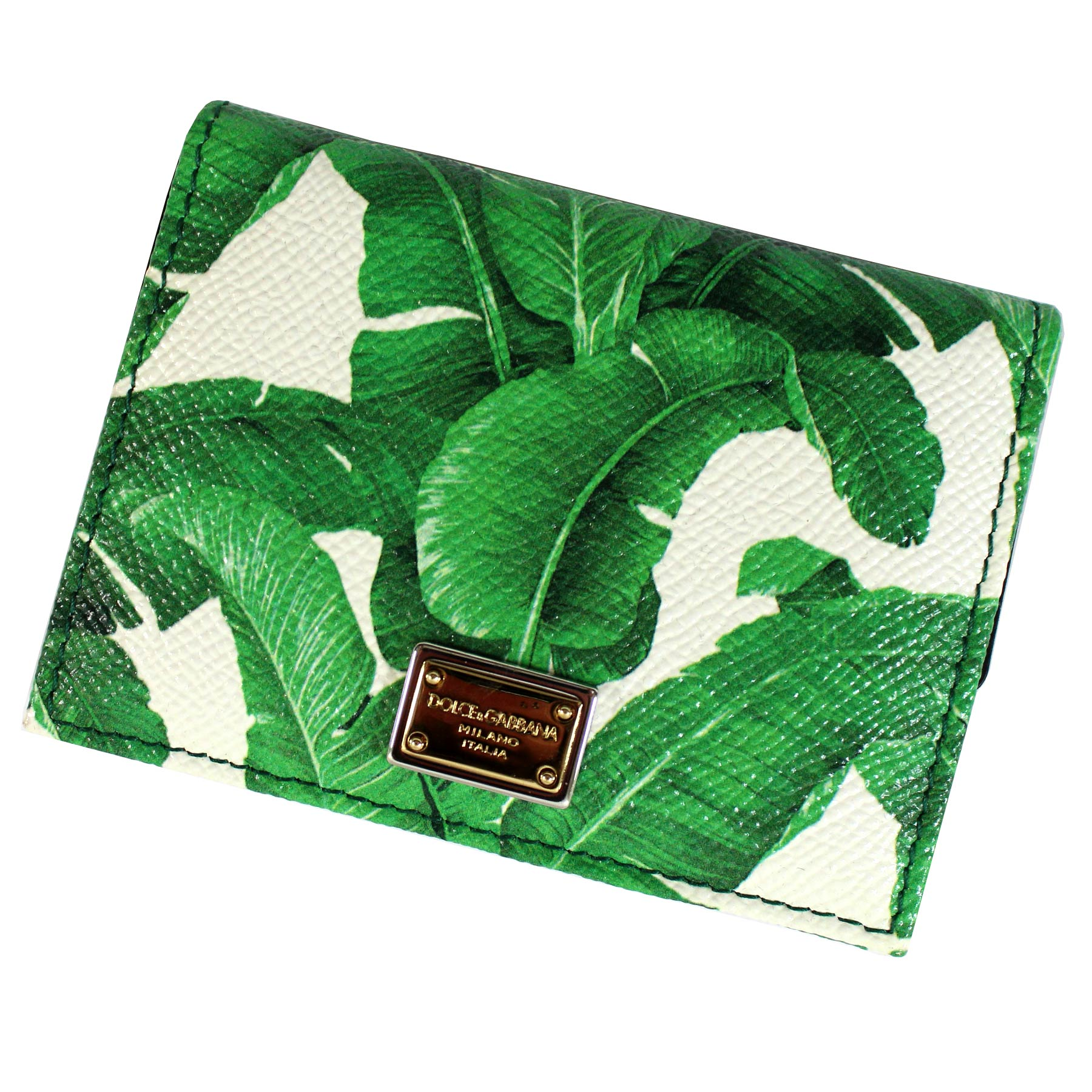 Dolce & Gabbana Wallet White Green