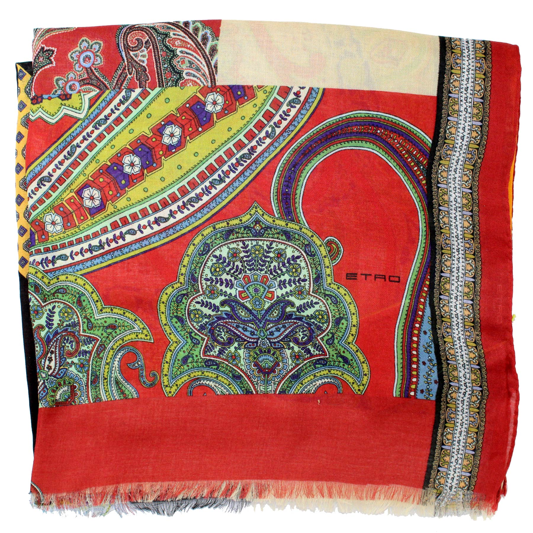 Etro Scarf Patch Design
