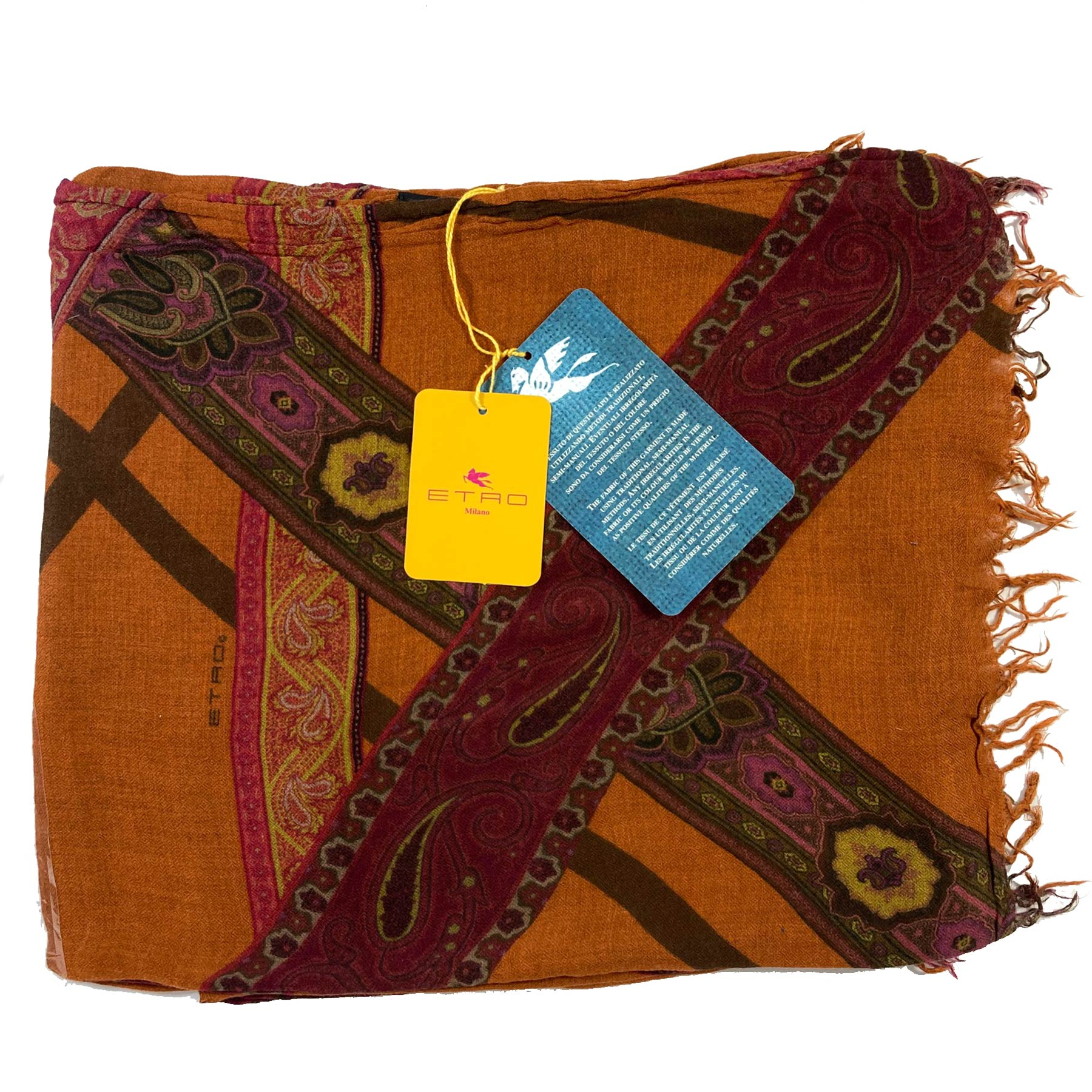 Etro Shawl Brown