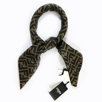 Fendi Scarf Brown FF