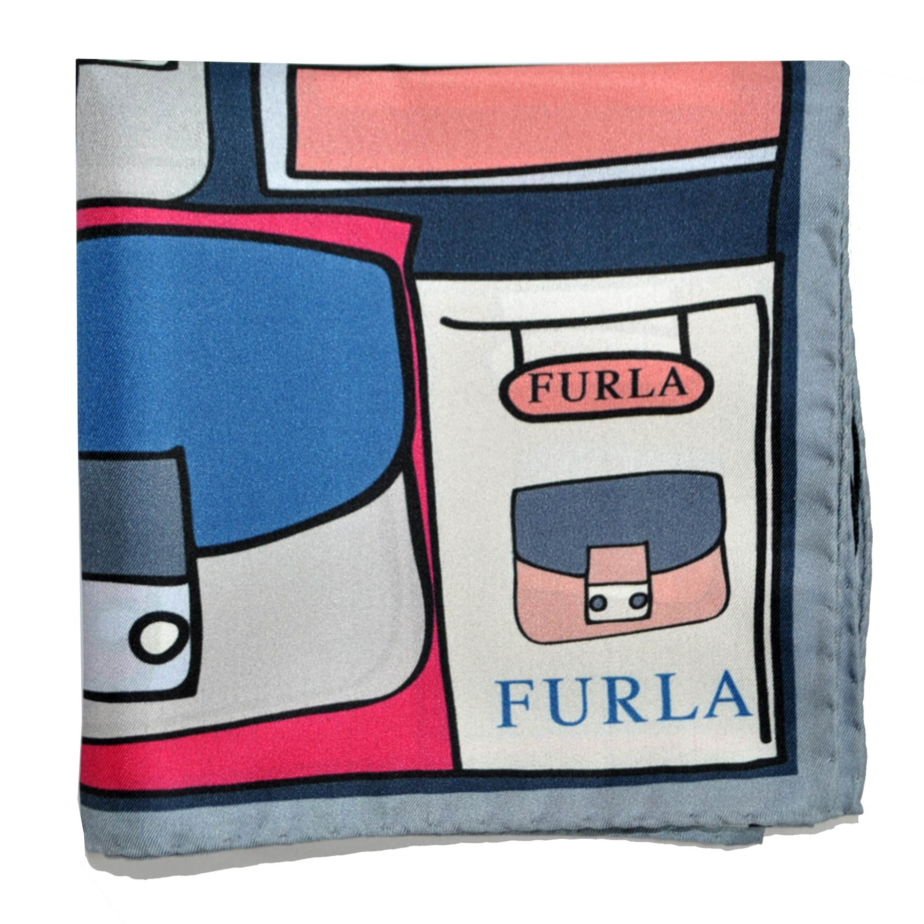 Furla Scarf Handbags & Purses Small Silk Square Scarf