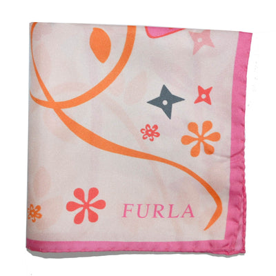 Furla Scarf Pink Monkeys & Purses S