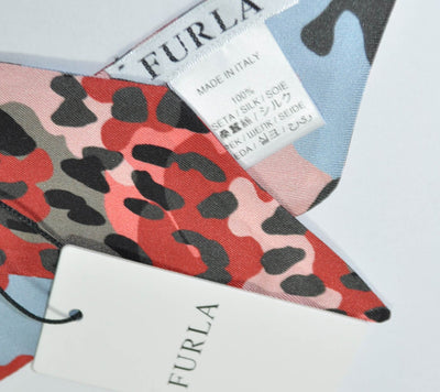 Furla Scarf Pink Taupe