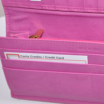 Gene Meyer Pink Wallet