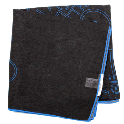 Gianfranco Ferre Scarf New lack Royal Blue Logo