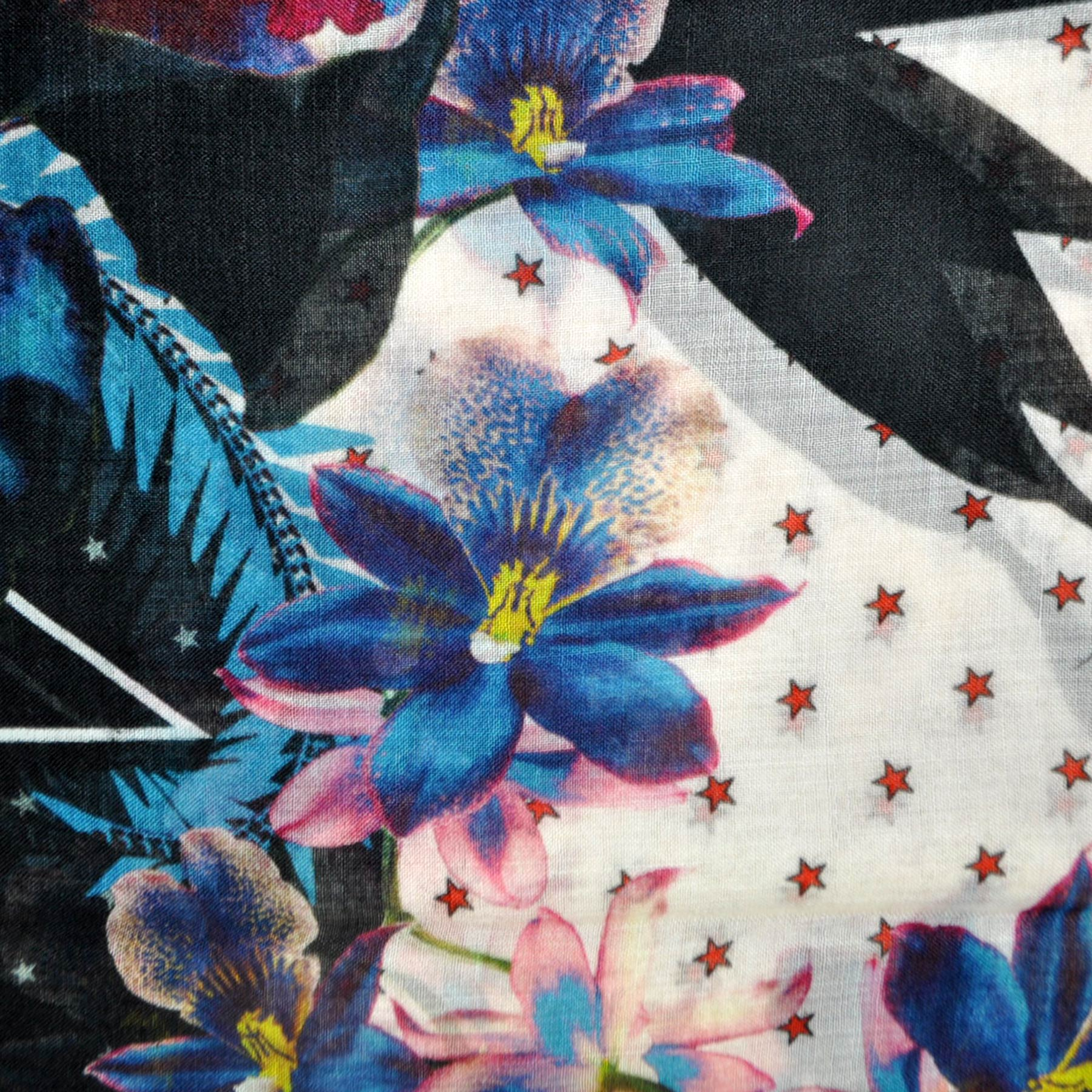 Givenchy Cashmere Scarf Ultra Paradise Flowers -