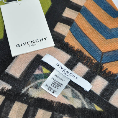 Givenchy Scarf Wool Cashmere