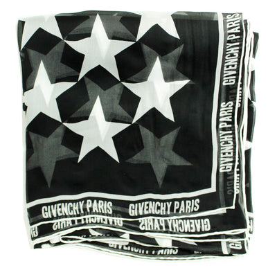 Extra Large Chiffon Silk Square Shawl Givenchy