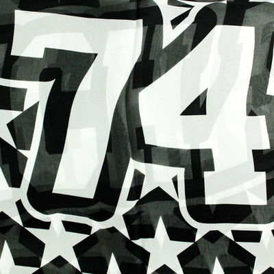 Givenchy Scarf Black White Givenchy 74 Design -