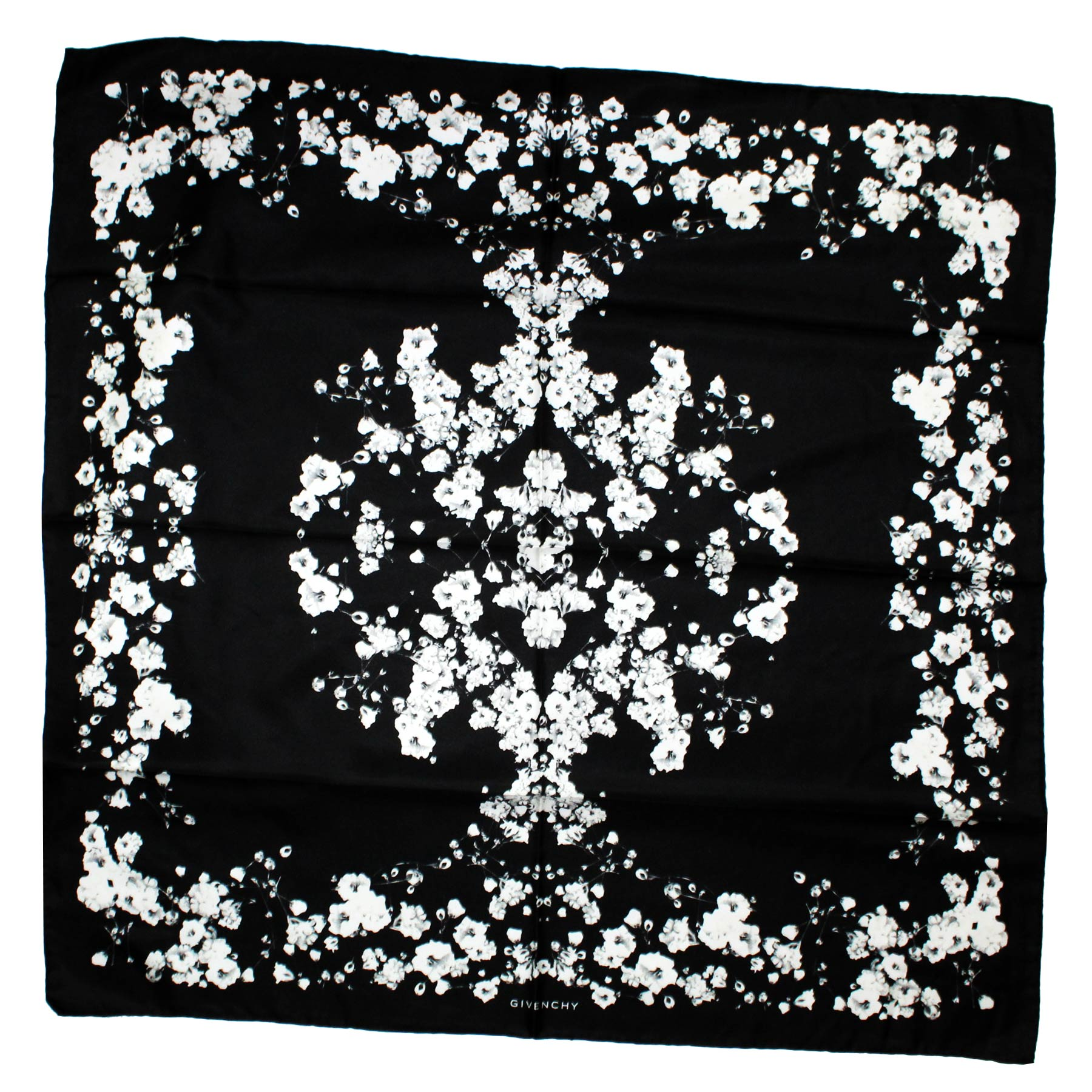 Givenchy Scarf Twill Silk Large Square Scarf
