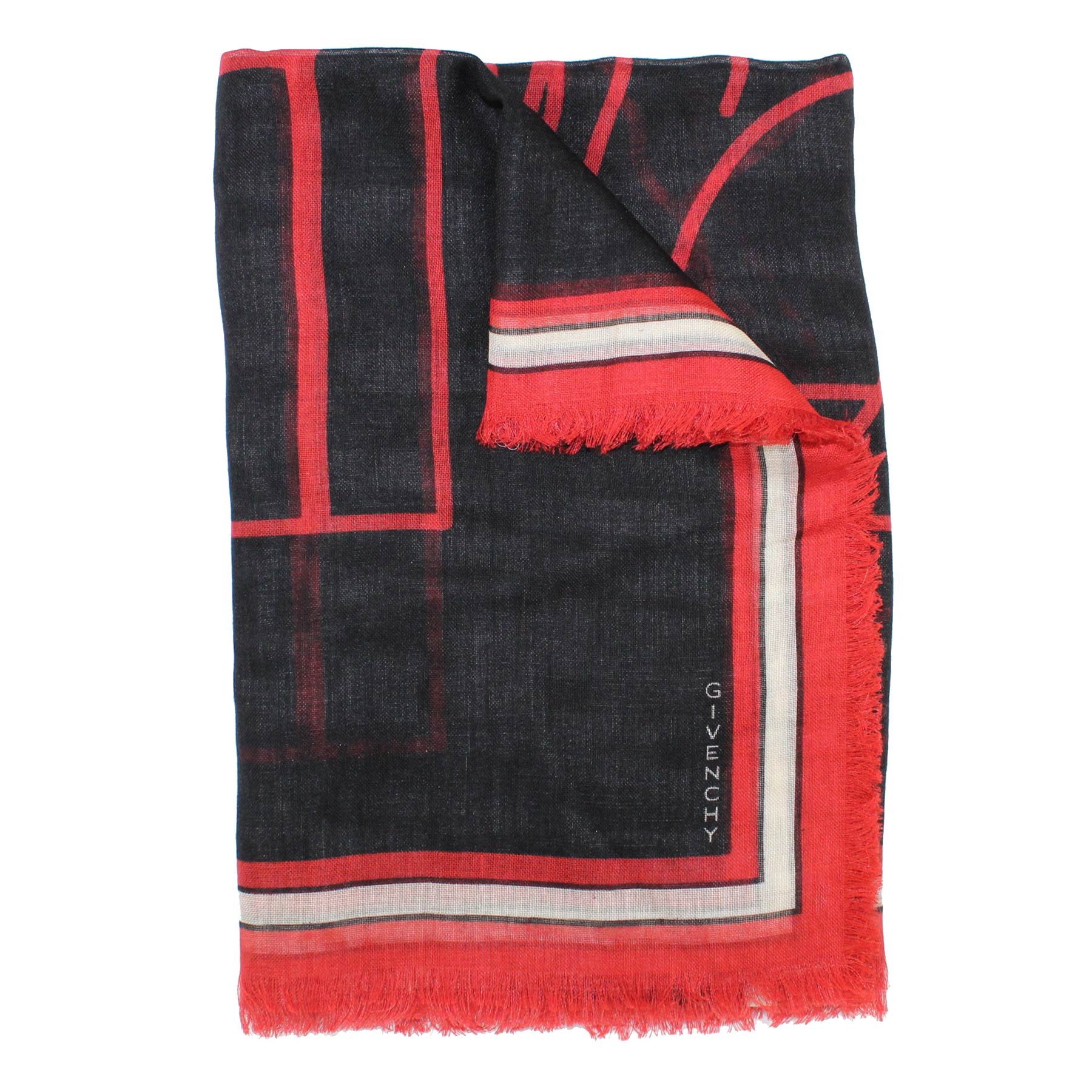 Givenchy Scarf Bambi - Extra Large Square Cashmere Silk Scarf