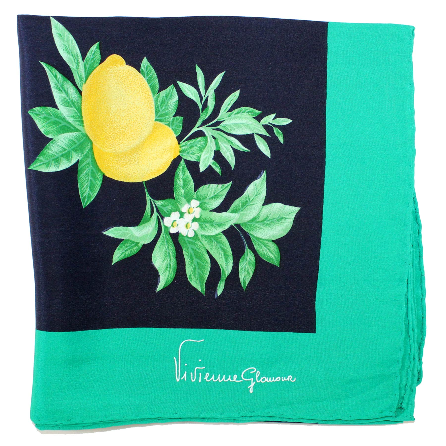 Women Scarf Lemon Design