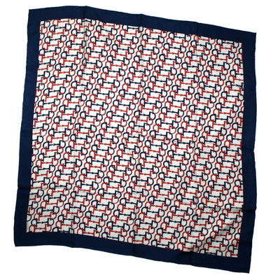 Gucci Scarf Horse Bit - Large Square Twill Silk Scarf