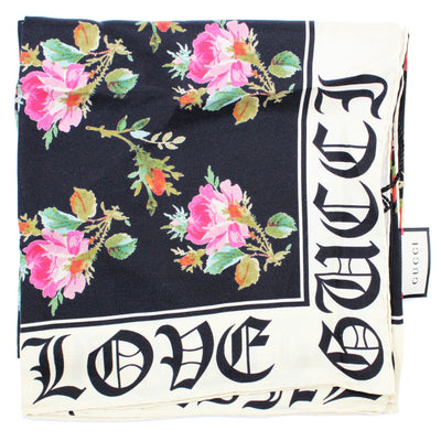 Gucci Scarf 'Gucci Blind For Love' Design