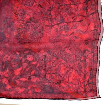 Extra Large Chiffon Silk Square Scarf