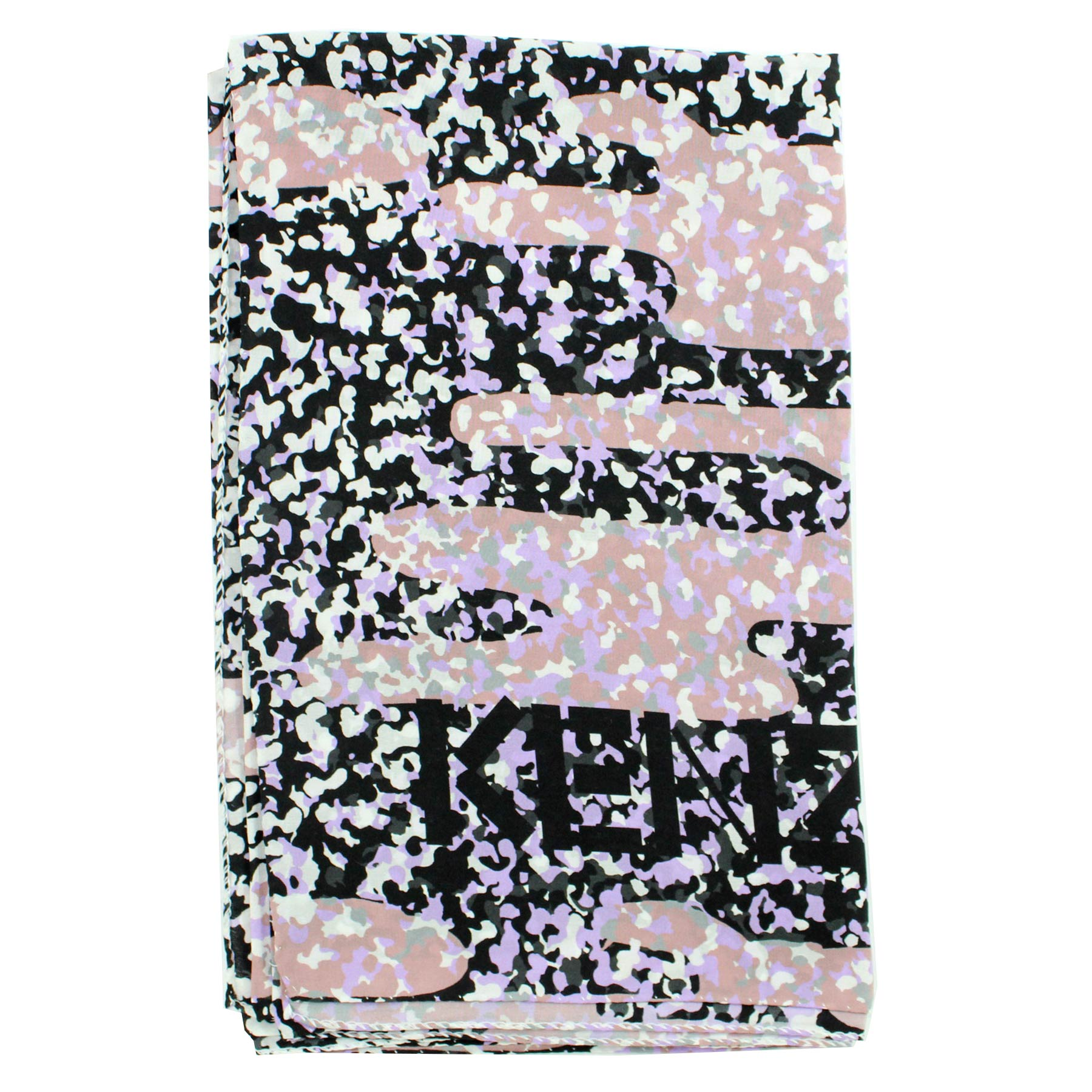 Lilac/ Dust Pink/ Black/ White Scarf