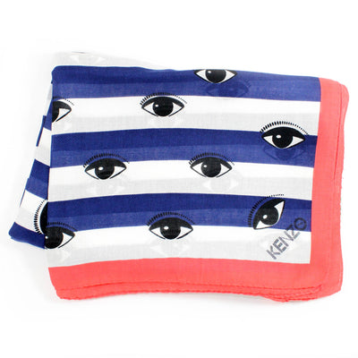Kenzo Scarf Eyes All Over Design