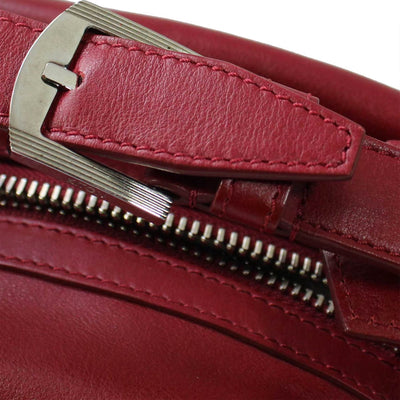 Kiton Purse Red Small Leather Handbag REDUCED - SALE