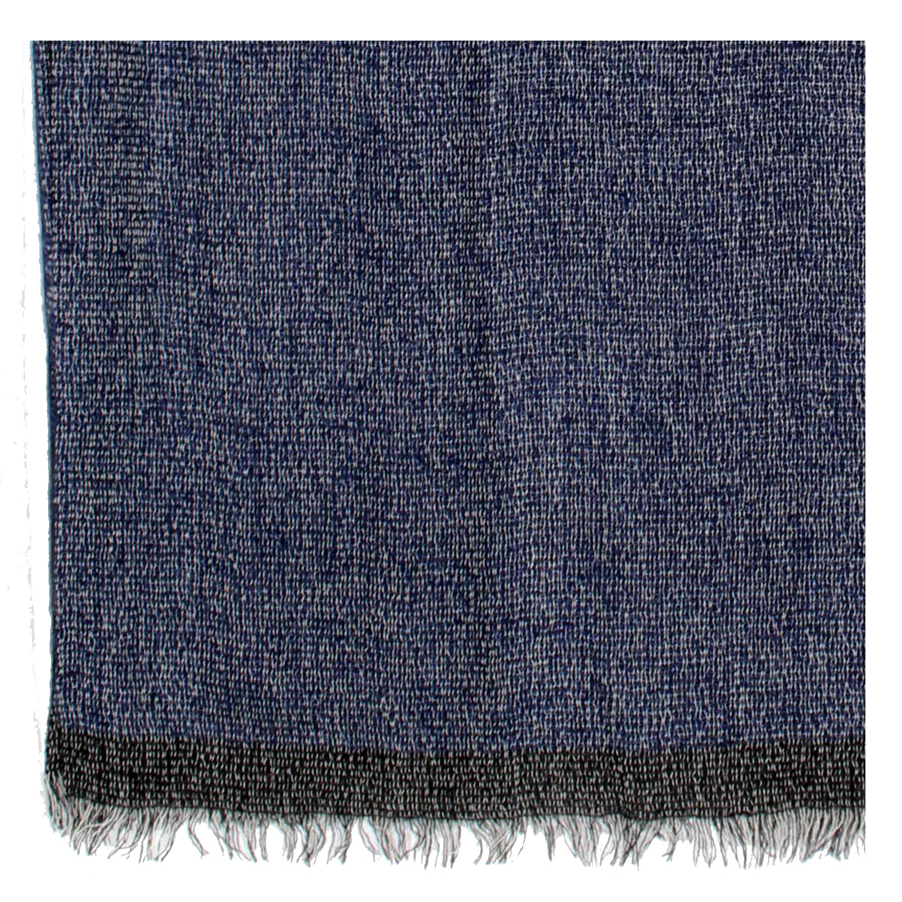 Kiton Scarf Lapis Blue New