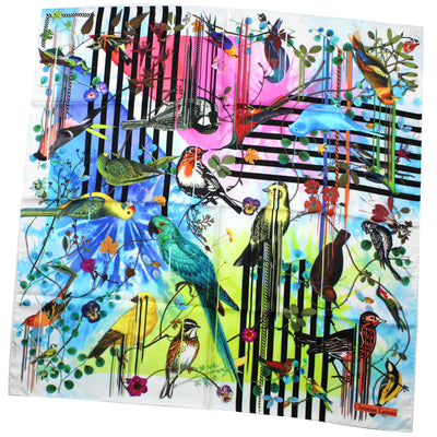 Christian Lacroix Scarf Birds Design