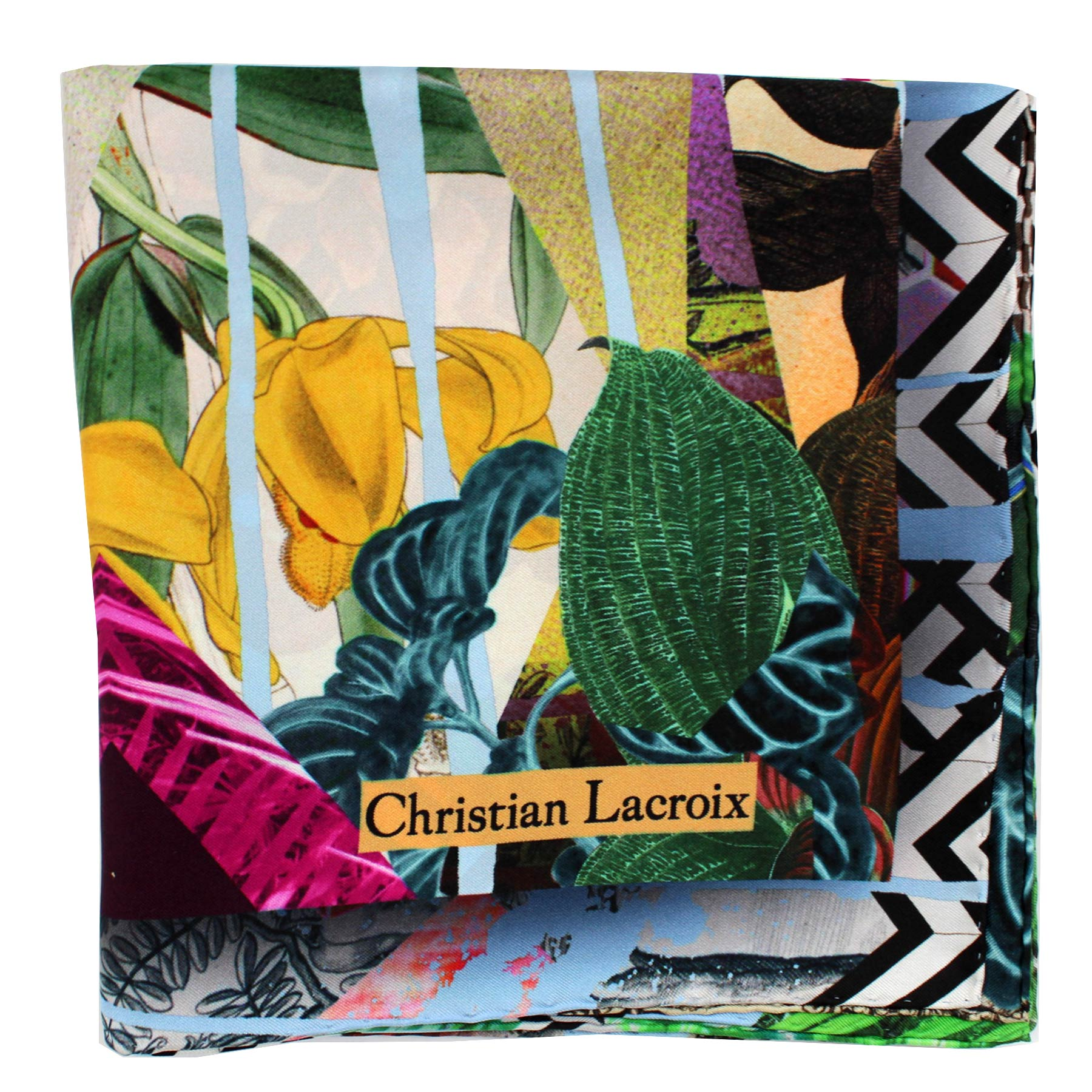 Christian Lacroix Silk Scarf  New