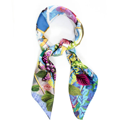 Christian Lacroix Silk Scarf Tree With Handbags