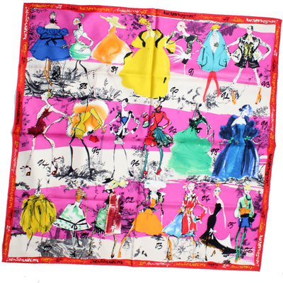 Christian Lacroix Scarf 20 Ans Design - Large Twill Silk Square Scarf