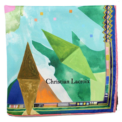 Lacroix Large Silk Square Foulard
