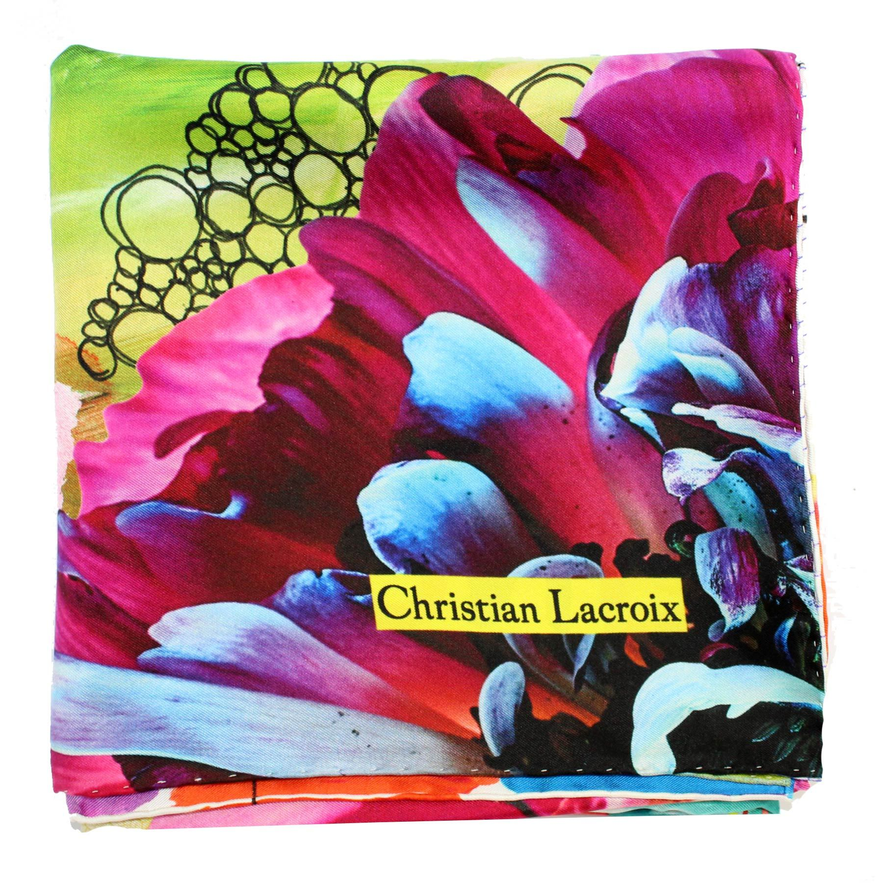 Christian Lacroix Silk Scarf Love One Love Two